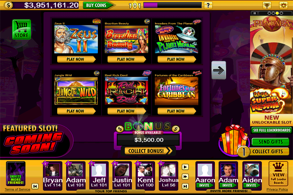 jackpot party casino online find casino games